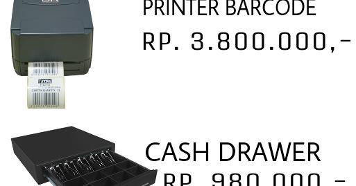 Paket Komputer Bandung Printer Kasir Scanner Barcode