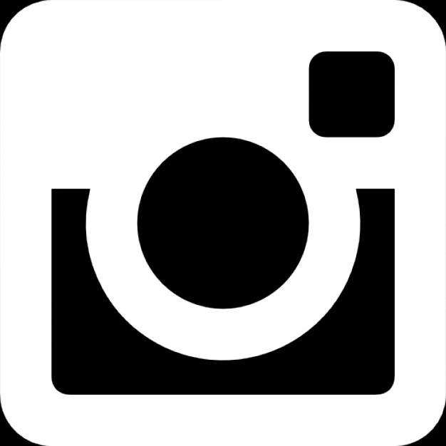 logo instagram warna putih
