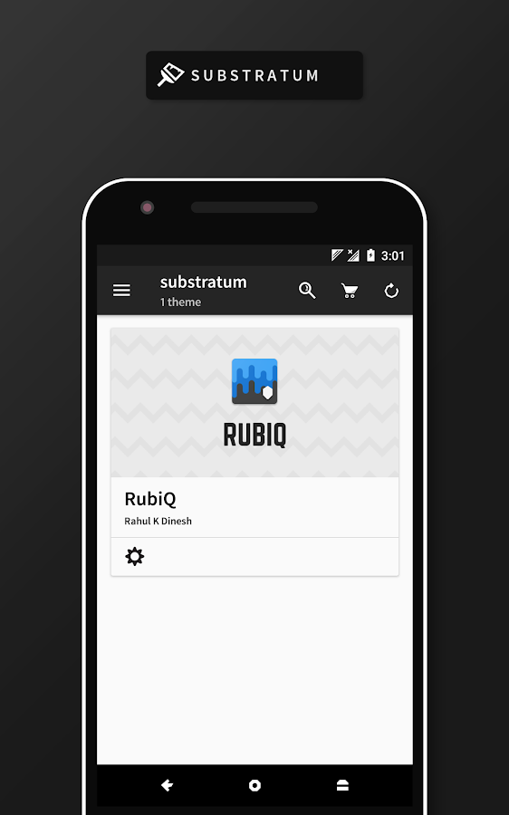 RubiQ Substratum Theme Screenshot 11