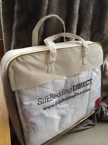 Sleeping on Silk - Silk Mattress Topper from Silk Bedding Direct