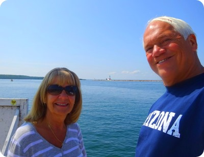 us at Mackinac Island