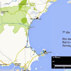 7º dia cicloviagem Colatina-ES a Arraial do Cabo-RJ