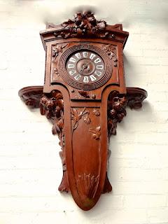 Настенные часы в стиле Модерн.ок.1900 г.3000 евро.