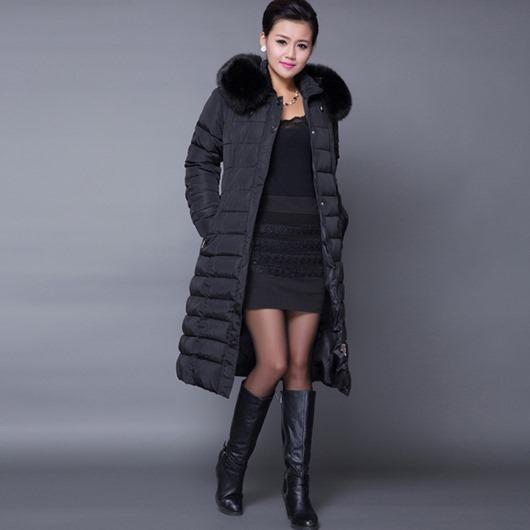 Зима-пальто-casaco-Feminino-капот-женщины-большие-мех-воротник-пуховик-женское-парка-X-длинная-пальто-XL