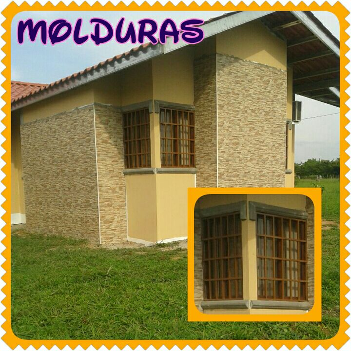 Molduras de ventanas decoraciones y acabados geraldine - Molduras para exteriores ...