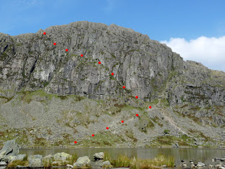 Pavey Ark with my path up Jacks Rack shown