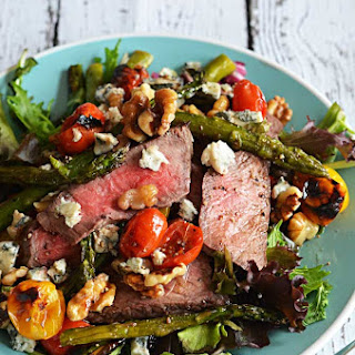 Warm Balsamic Steak and Vegetable Medley