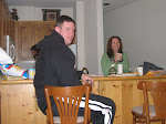 Jeff and Melissa prepare for a long day of lodge living
