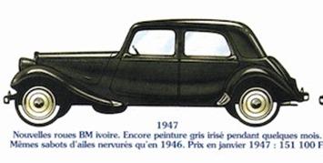 Citroen Traction 11 1947