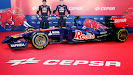 Launch Scuderia Toro Rosso STR9 with Jean-Eric Vergne & Daniil Kvyat