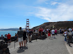 The crowd at Vista Point