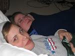 Ashley and KD cuddle