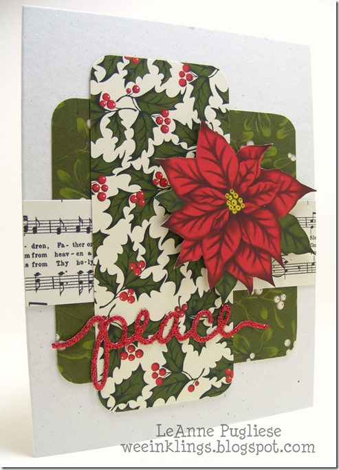 LeAnne Pugliese WeeInklings Home for Christmas Stampin Up