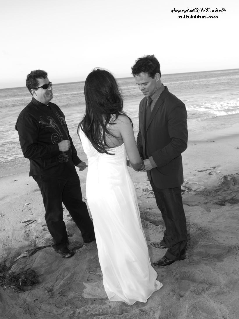 a beach  wedding still