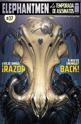 Actualización 23/10/2015: Se agrega Elephantmen #37: La Temporada de Asesinatos - Parte 2 de 4 y Paciente Zero - Parte 2 de 5, traducido por Kingdom-X y maquetado por Arsenio Lupín.