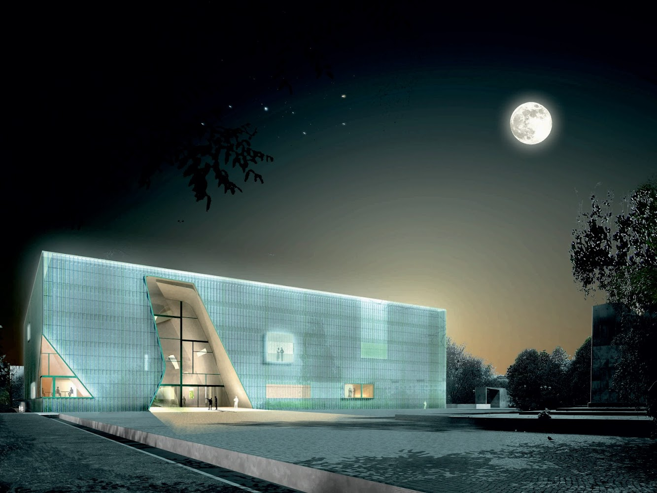 Varsavia, Polonia: Museum of the History of Polish Jews by Lahdelma & MahlamÄKI