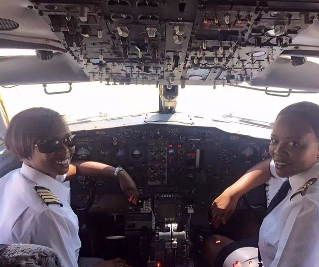 First 2 Female Captain pilots to Fly a Plane in Zimbabwe