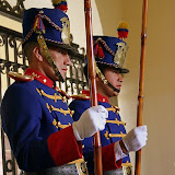Changing of the Guard at the Presidential Palace, Quito, Ecuador