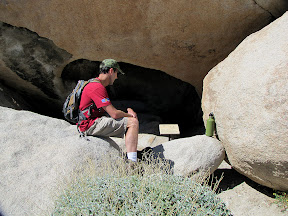 """Checking the """"Horse with Rider"""" pictograph in Piedras Grandes"""
