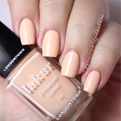 Londontown lakur Lovely Jubbly swatch