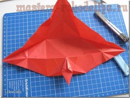 flor de pascua origami (22)