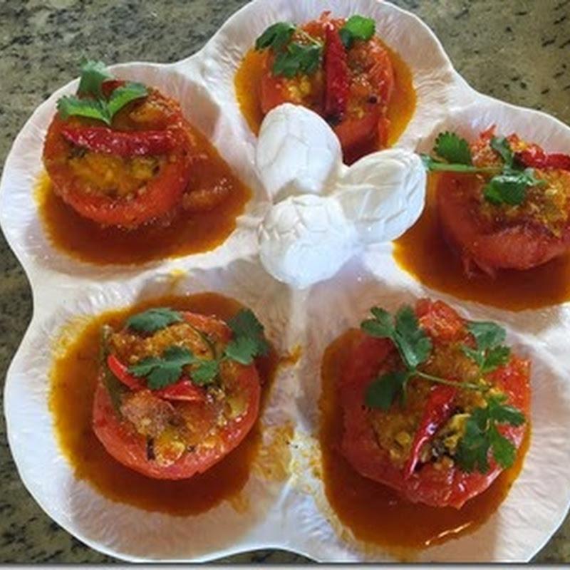 Cà chua dồn tàu hủ - Long