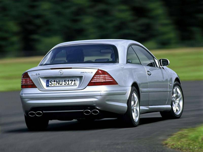 2003 mercedes benz cl class cl55 amg specifications for Mercedes benz cl55 amg price
