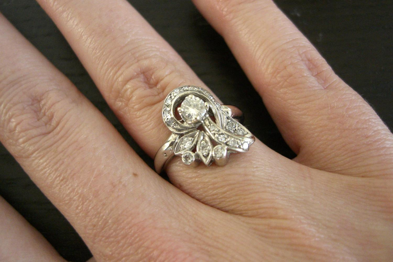 2 carat black diamond engagement ring for Interlocking wedding rings tattoo