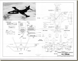 Grumman F9F-5 Panther 3V