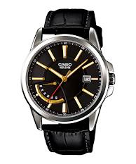Jam Tangan Casio Edifice Dengan Tali Stainless Hitam