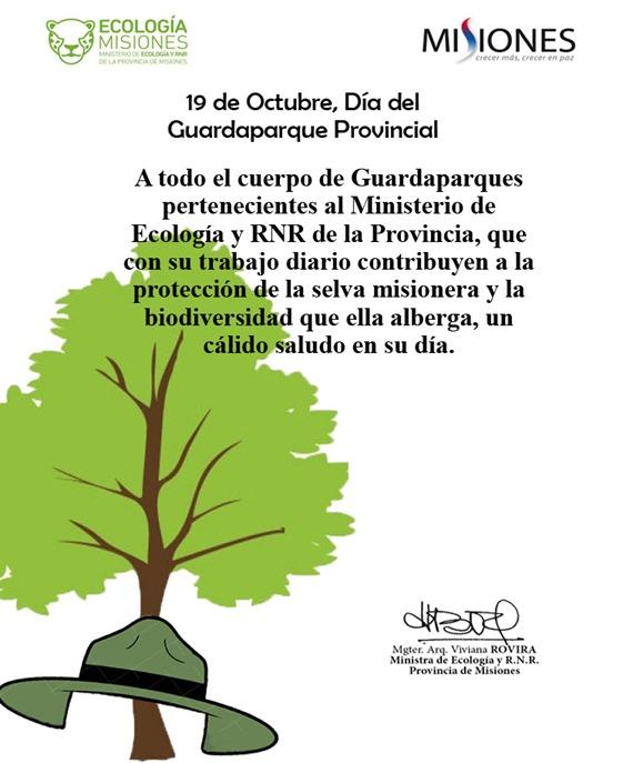 Dia del Guardaparque Provincial