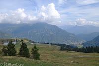 Kurz vor der Scheitelhöhe des Passo del Maniva.