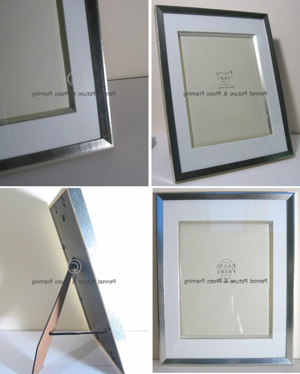 Top Quality Deep Frame for Wedding Pictures. Silver - 10 x 8 Opening
