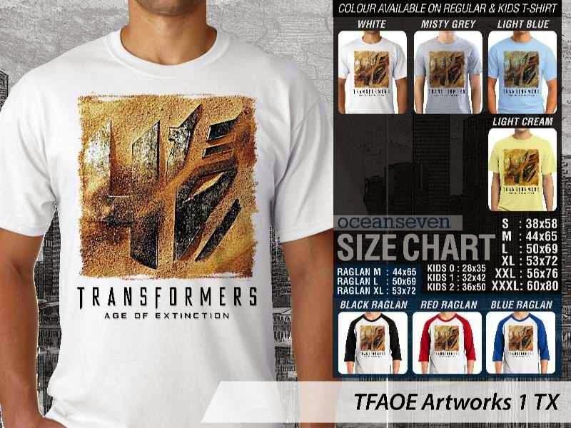 KAOS film Transformers Artworks 1 Transformers Age of Extinction distro ocean seven