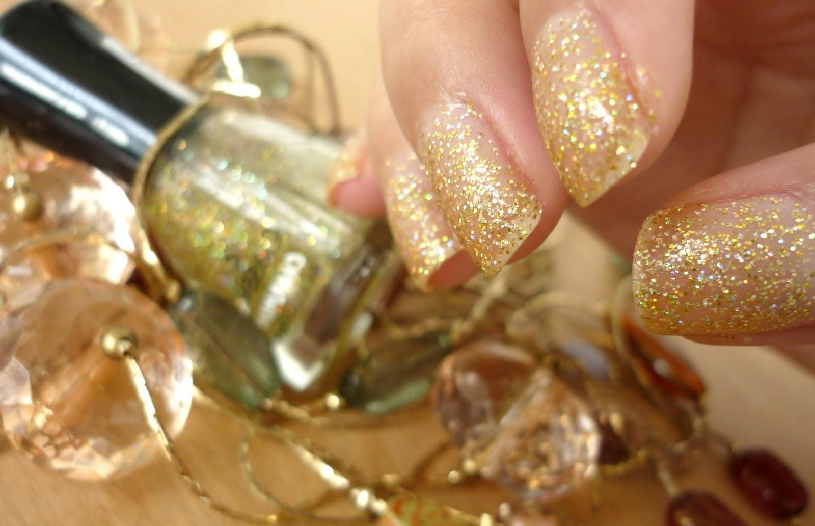 OPI glitter nail polishes