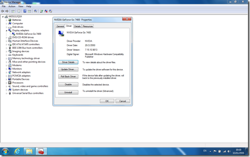 802.11 wireless lan driver windows 7