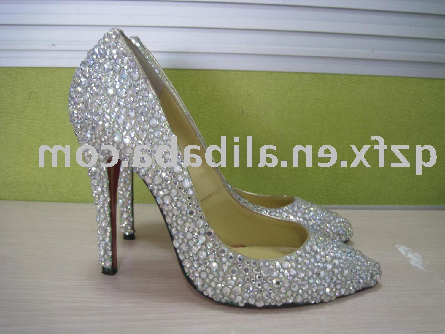 ladies shoes, rhinestone