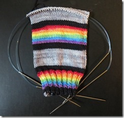 Must Stash - Dark Side of the Moon - EPV - sock 1 - leg