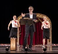 """UCSB A&L - """"1 Radio Host, 2 Dancers"""" 10/19/13 Granad Theatre"""