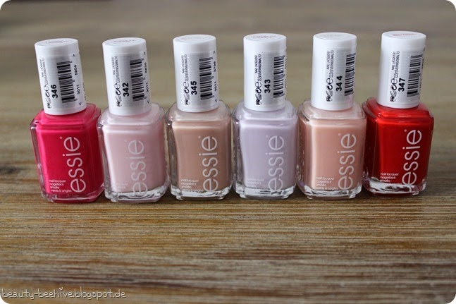 essie Nagellack Nailpolish Review Swatch LE Limited Edition Bridal Collection Wedding Hochzeit 2015 Happy Wife Happy Life Brides No Grooms Brides to Be Worth the Wait Hubby for Dessert Tying the Knottie 2