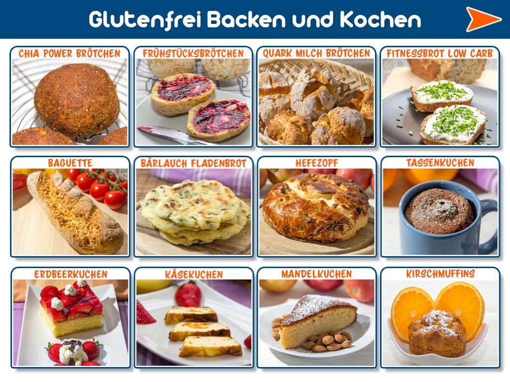 Kochen Und Backen App glutenfrei backen und kochen android apps