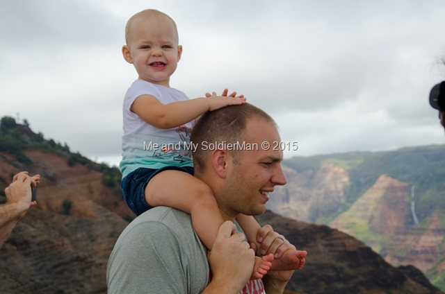 Me and My SoldierMan: Kauai Waimea Canyon