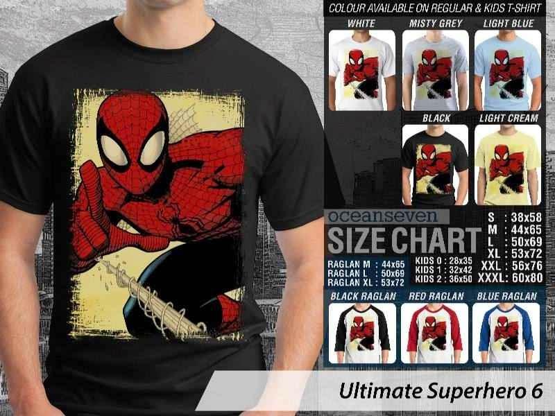 KAOS spiderman 6 Ultimate Superhero distro ocean seven