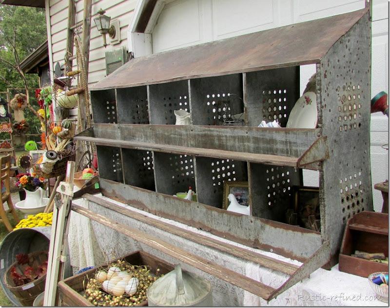 Salvaged chicken feeder