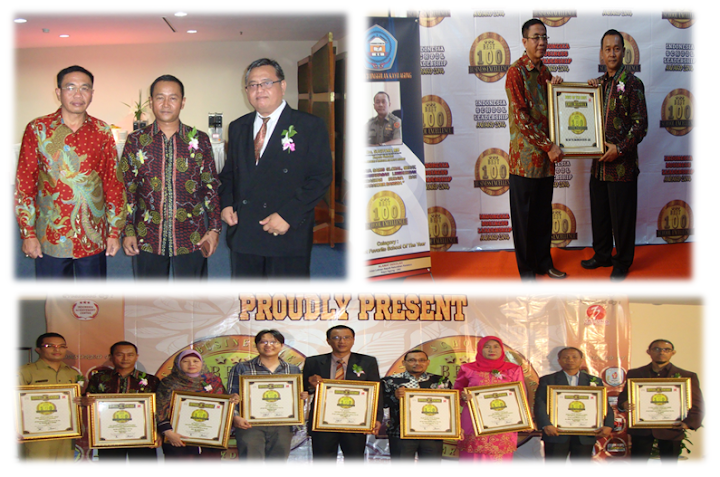Indonesian School Leadership Award 2014-Best 100 School Excelence