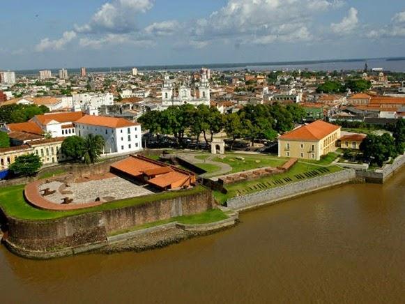 Forte do Presépio - Belém do Parà, fonte:  João Ramid/ O Liberal
