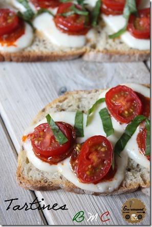 Tartines Basilic, Mozza, Chorizo 6