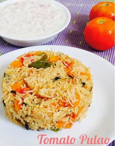 Tomato Pulao Rice Recipe