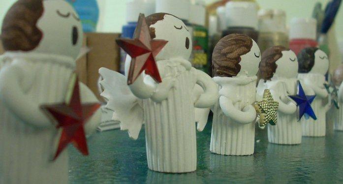 Крылышки ангела своими руками