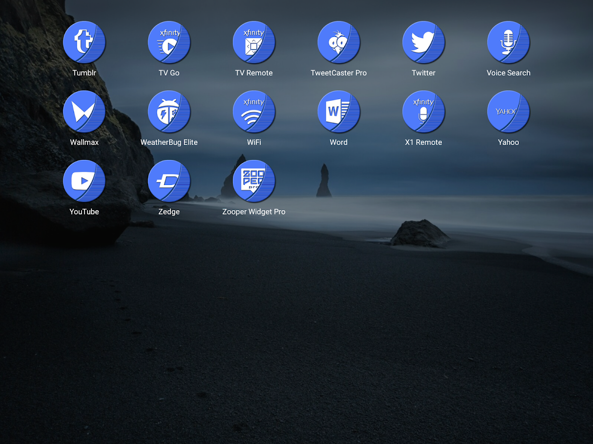 Naz Blue - Icon Pack Screenshot 12